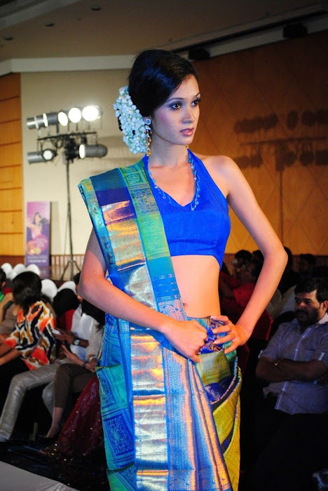 hyderabad fashion week beautiful model hot images