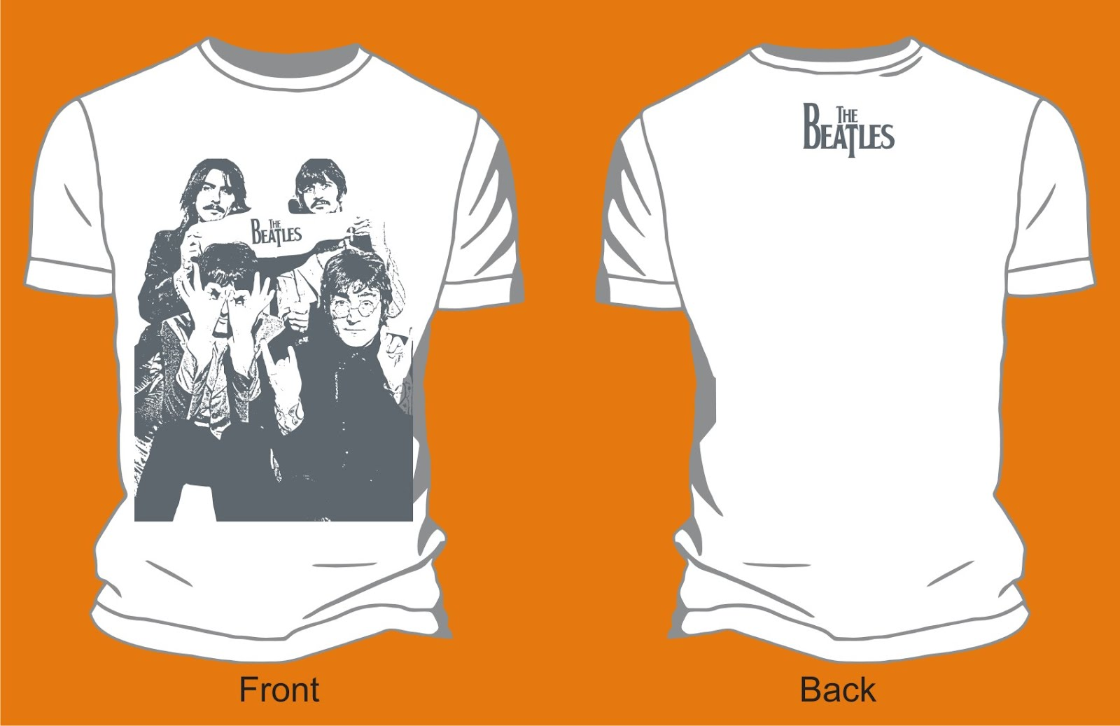 the_beatles-poster_band_vector