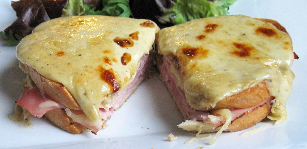 Glug of Oil : Easy Croque Monsieur Recipe - Sandwich Idea