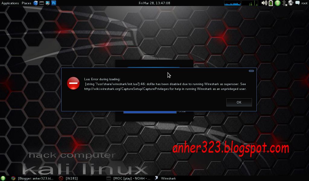 Lua: Error during loading