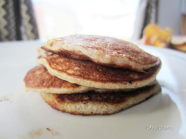 """Easy """"Baby"""" Banana Pancakes  by Raia&squot;s Recipes"""