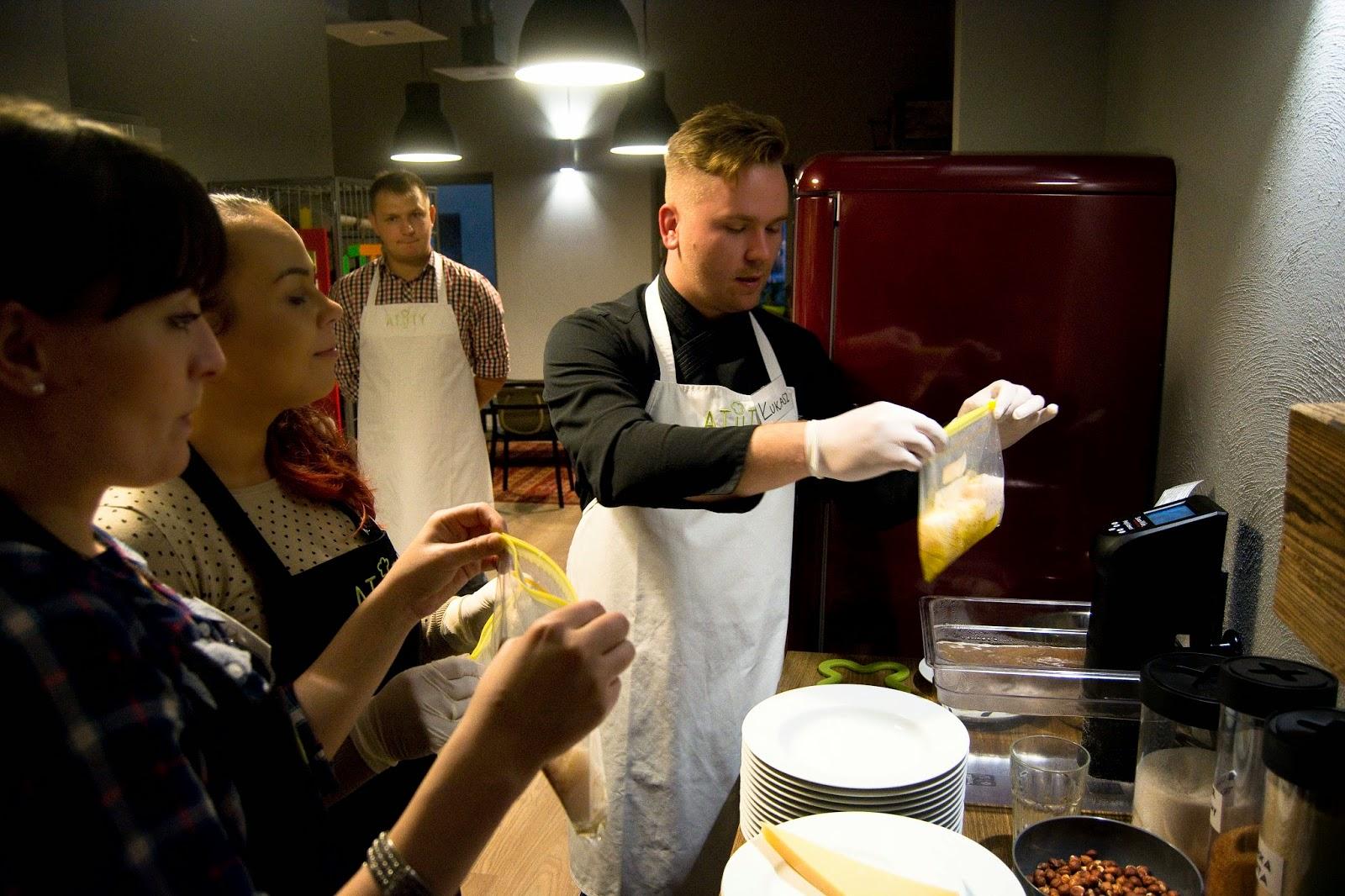Atuty - krótki kurs kuchni francuskiej - polędwiczka z dorsza