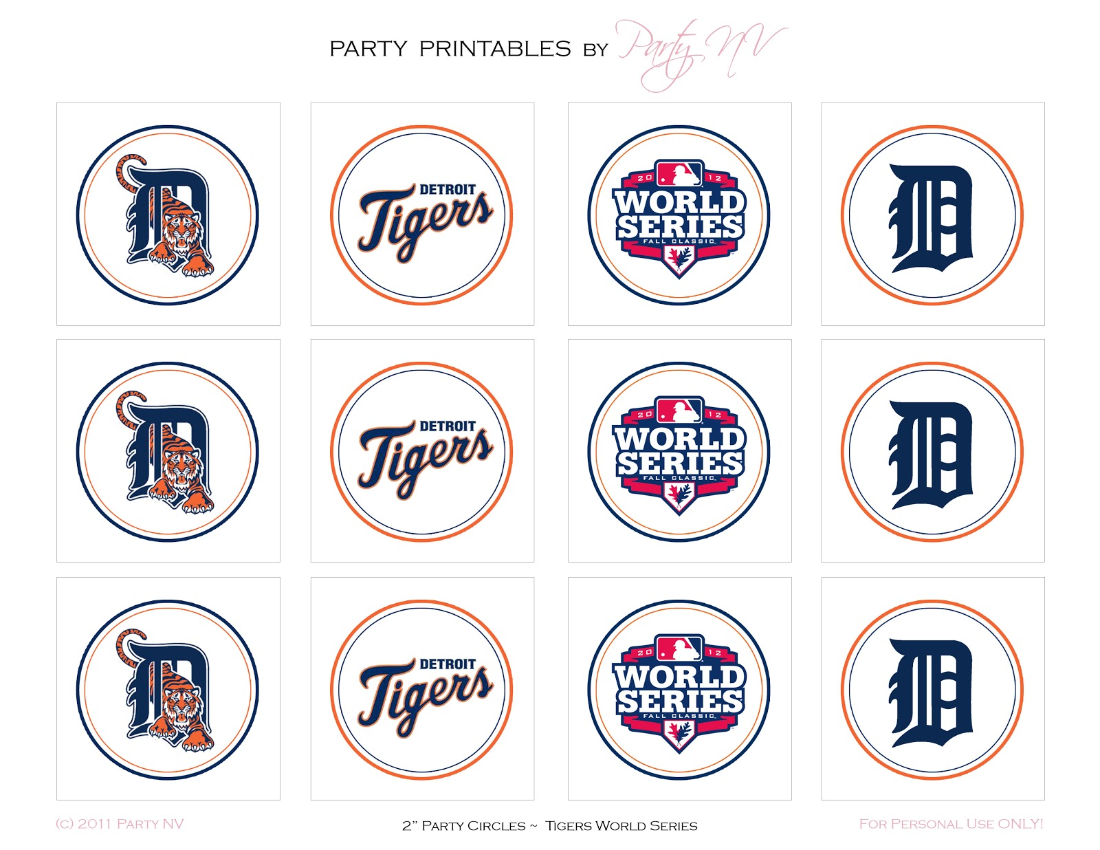 photograph regarding Printable Detroit Tigers Schedule referred to as Bash NV: Freebie Friday Detroit Tigers Printables