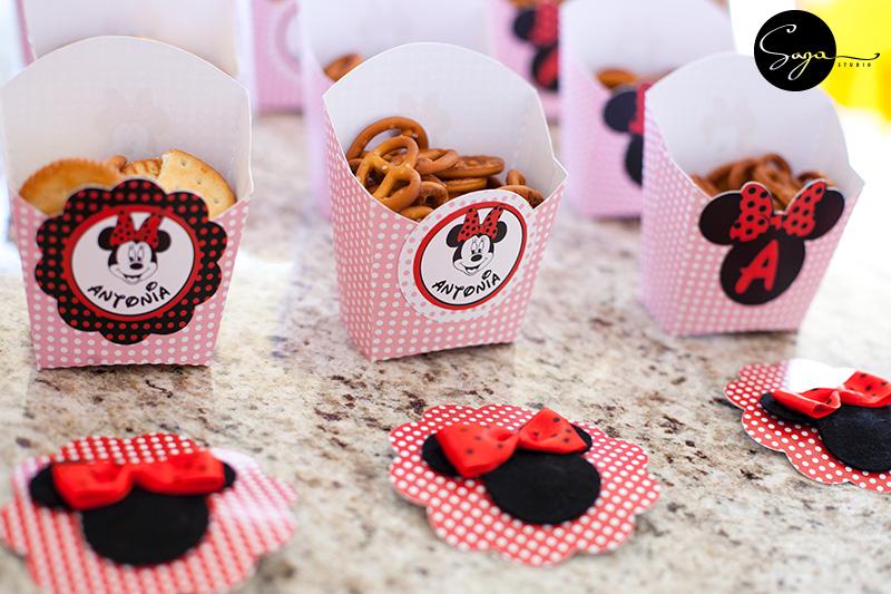 cutii Minnie, Minnie Mouse, pachet petrecere Minnie