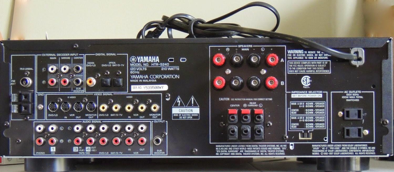 Htr Yamaha