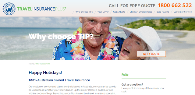 trusted travel insurance company in Australia
