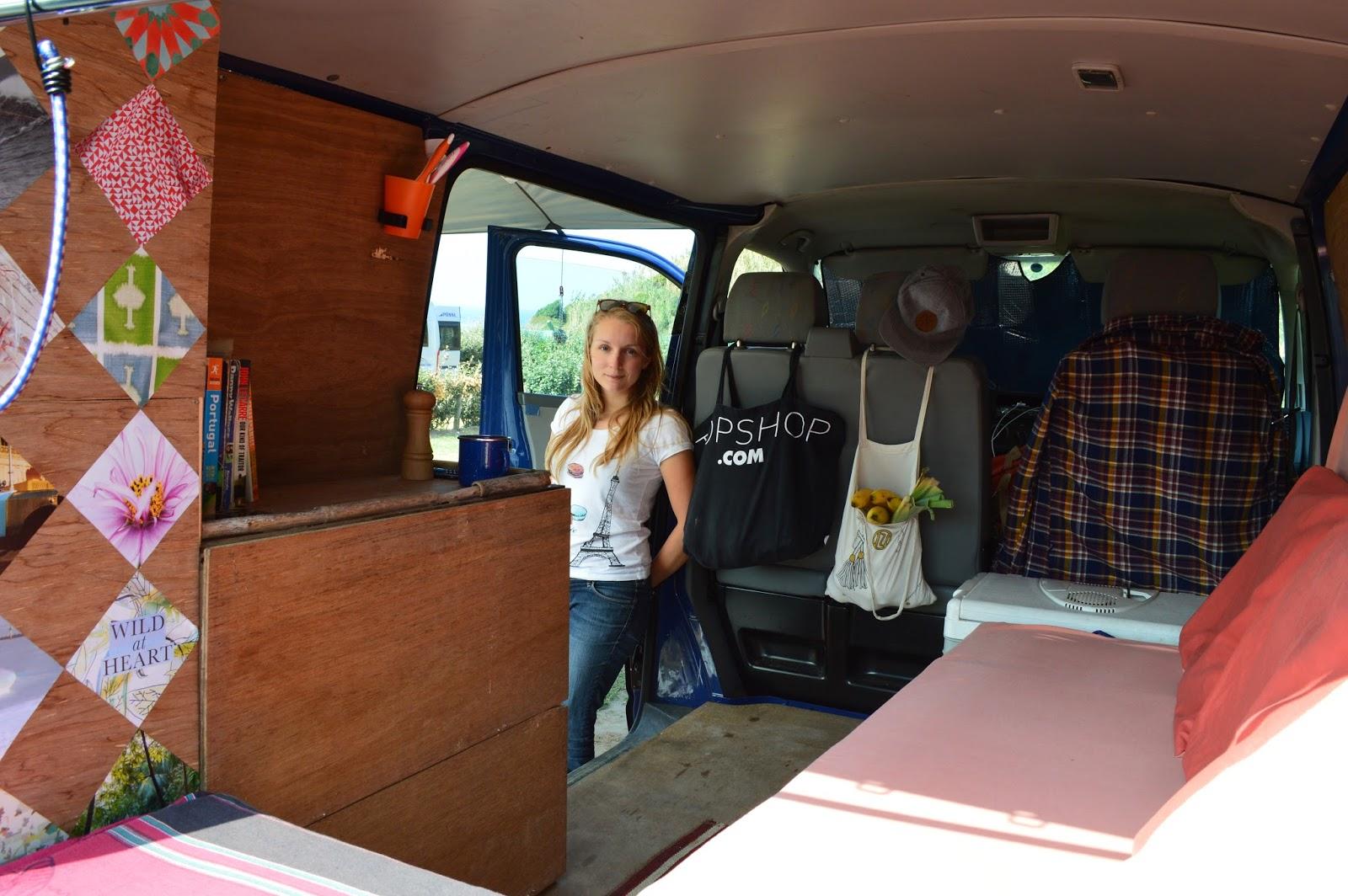 DIY Campervan The Inside So Far