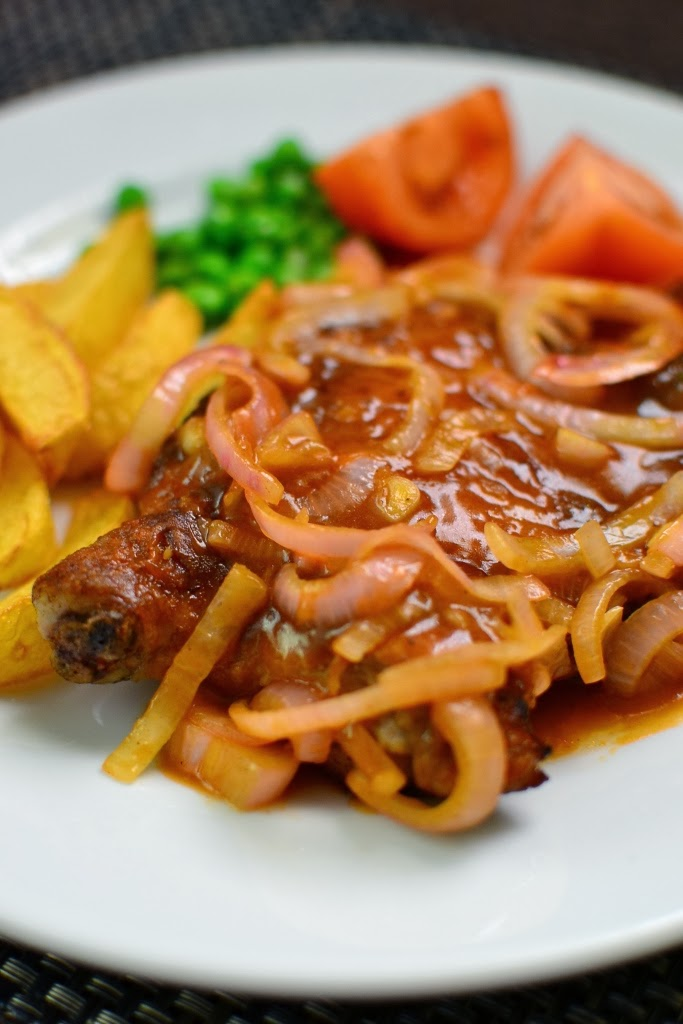 Simple Hainanese Chicken Chop