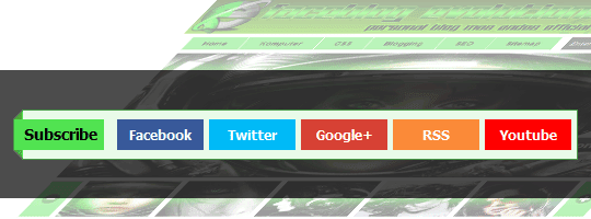 Widget Social Subscribe CSS