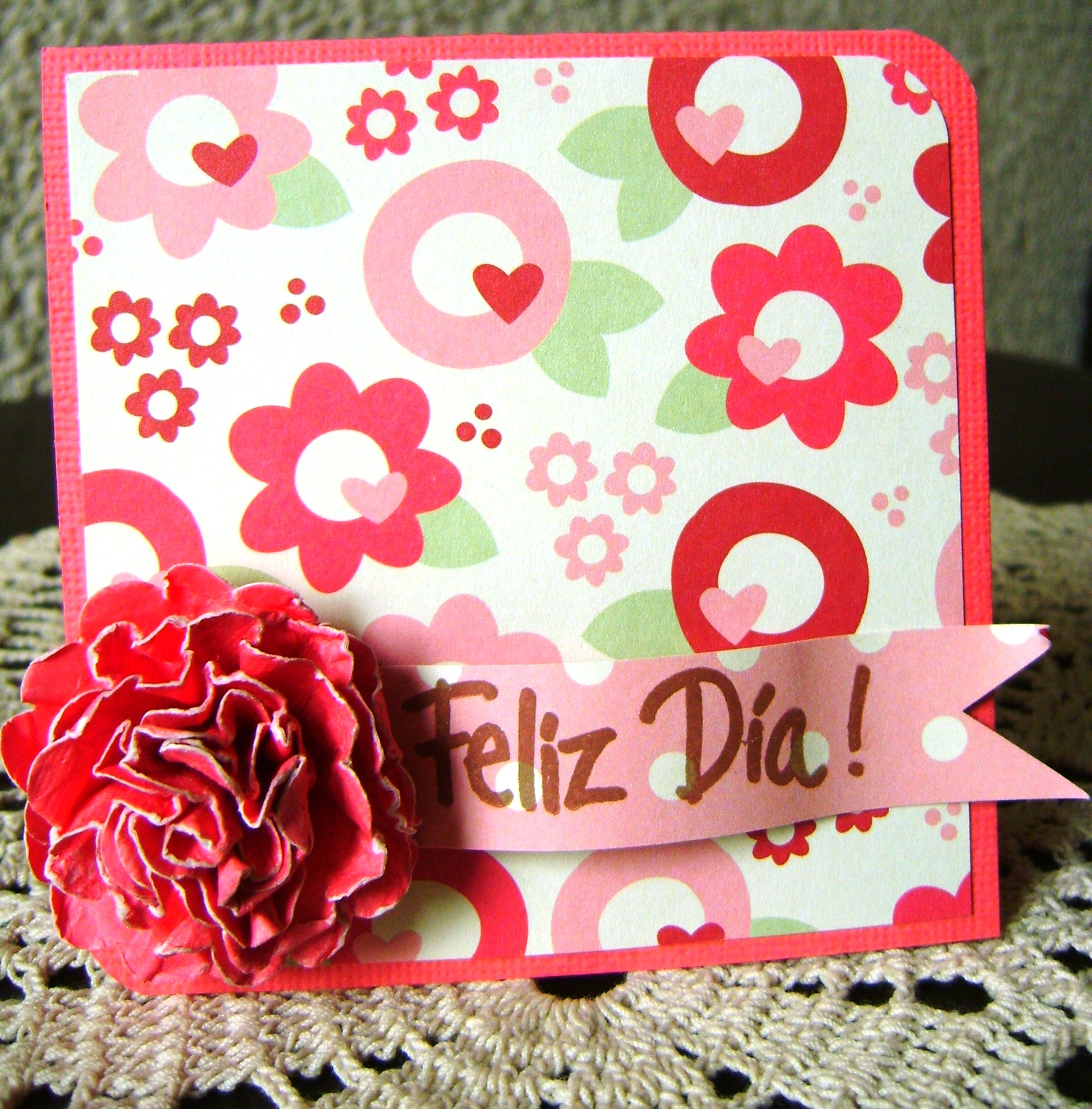 Papel tarjetas y scrapbook para este 10 de mayo for Decoracion 10 de mayo