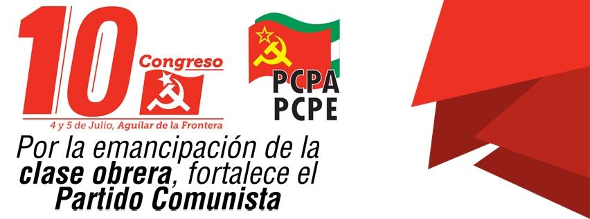 10 congreso PCPA-PCPE