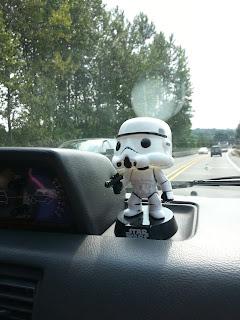 Storm Trooper Bobblehead