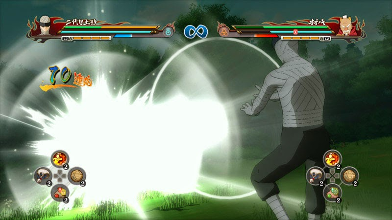 Naruto Storm Revolution Edo Kage vs Current Kage
