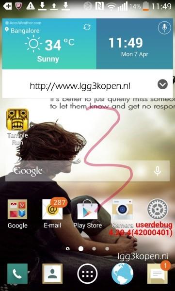 LG G3 il nuovo smartphone top di gamma con nuova interfaccia Android