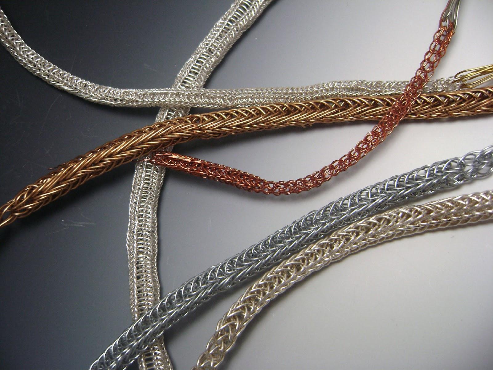 Dana Evans Studio Blog: Viking Knit Chain