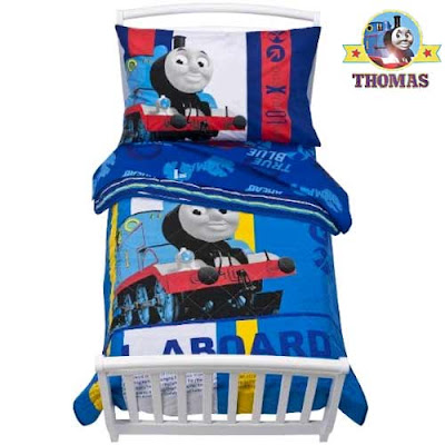 Thomas train pillow case a smidgen large comforter quilted blanket kids railway bedroom ideas