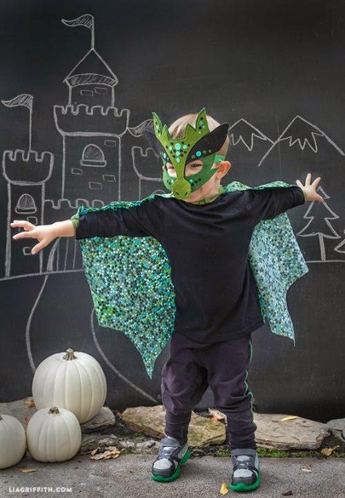DIY disfraz dragón