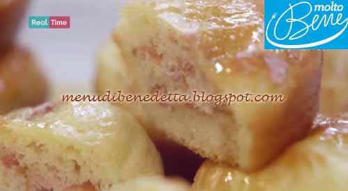 Muffin pancakes ricetta Parodi per Molto Bene