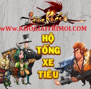 Hướng dẫn tham gia Hoạt động Hộ Tống Xe Tiêu trong game Lãng Khách