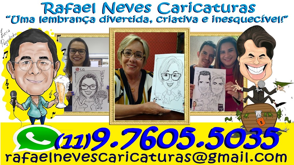 Rafael Neves Caricaturas