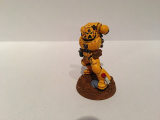 The Hairy Painter: How to Paint Yellow Power Armour