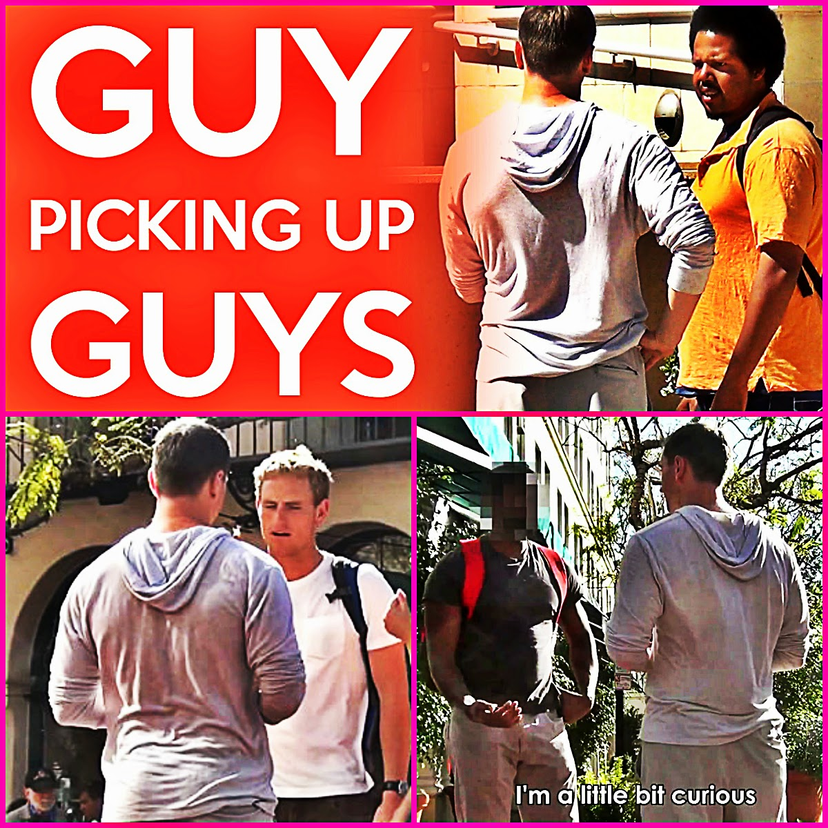 What Happens When A Straight Guy Asks Random Guys Out For A Date?