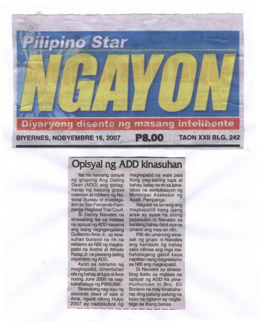 Ang hookup daan doctrines and teachings