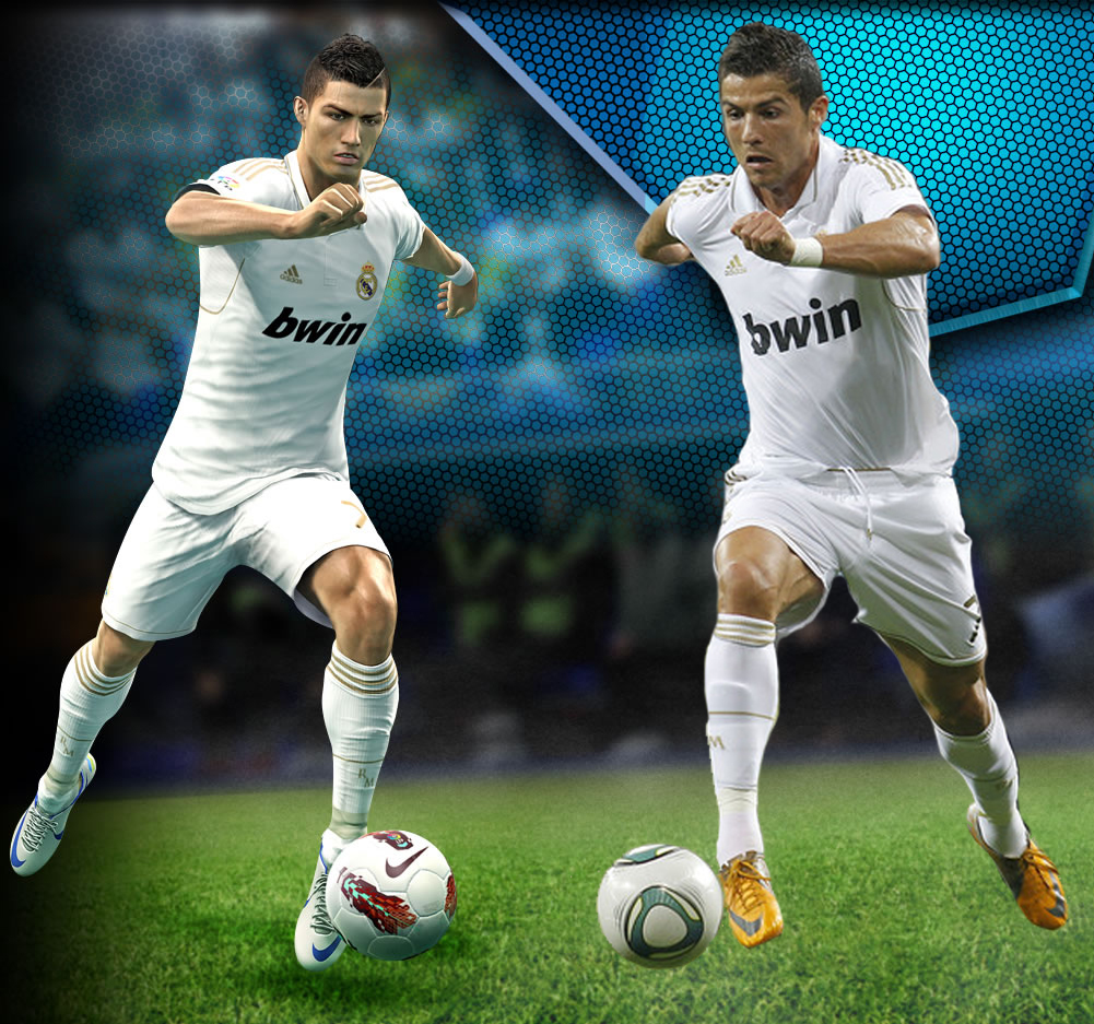 First PES 2013 Screen Found    Comparisons