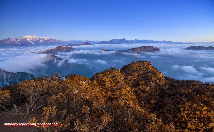 Mùa đông ở dãy núi Himalaya 8