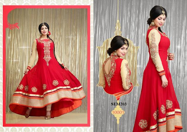 Latest Fashionable Ayesha Takia Anarkali Suit