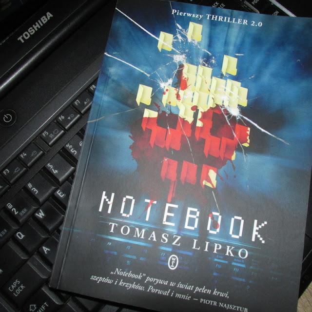 """""""Notebook"""" Tomasza Lipko i puste strony"""