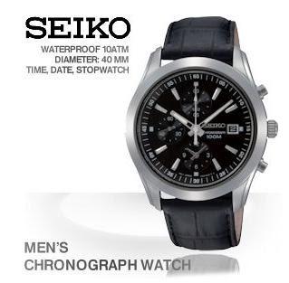 Herren-Uhr Seiko SNDA87P2 bei iBood für 135,90 Euro (Vergleichspreis: 215,10 Euro)