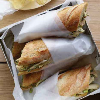 Roast Chicken Salad Sandwiches