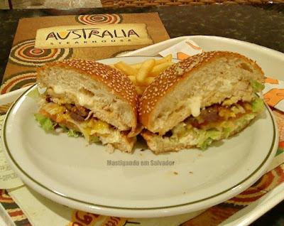 Austrália Steak House: Sanduíche Townsend