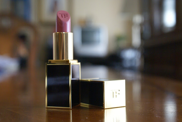 Tom Ford Lipstick in Indian Rose Review And Swatches