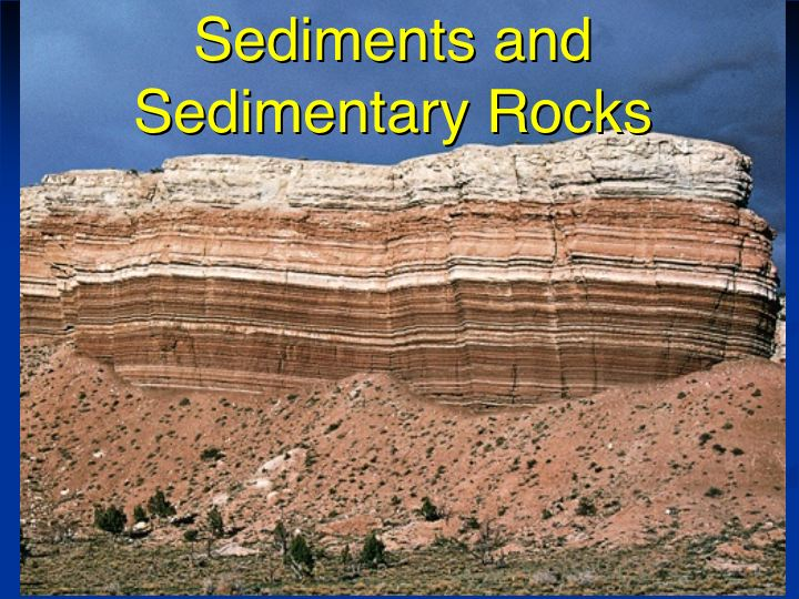 sedimentary rock is a type of rock that is formed by sedimentation of    Sedimentary Rock Types
