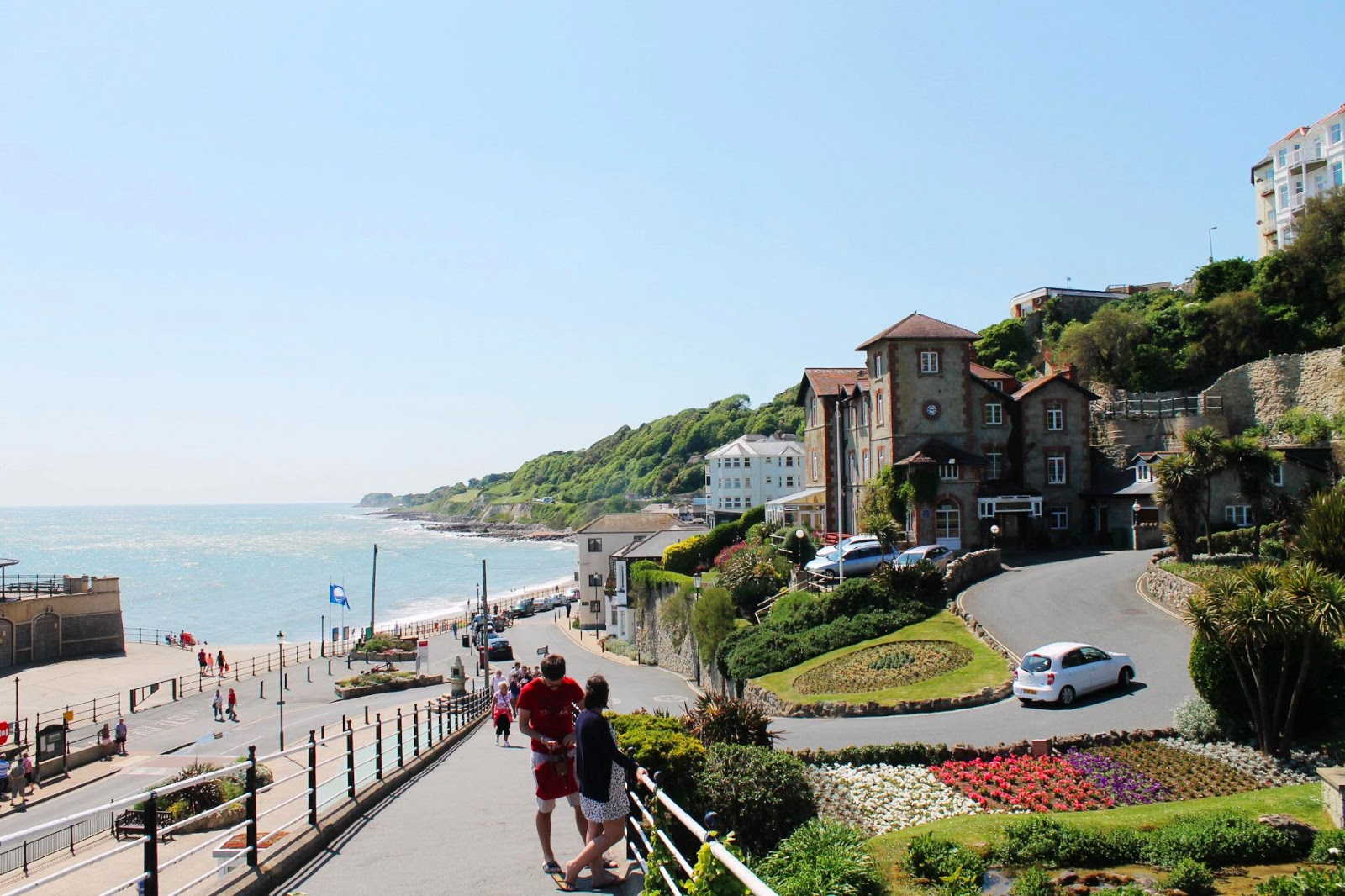 isle of wight ventnor haven town seaside view