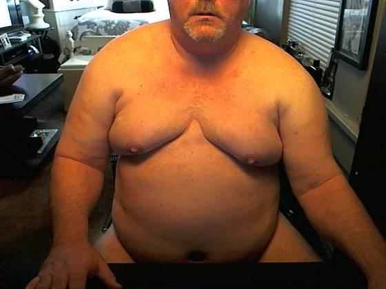 fat men with moob