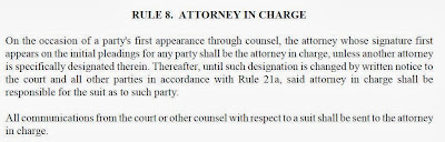TRCP-Rule-8-Attorney-in-Charge-to-be-ser