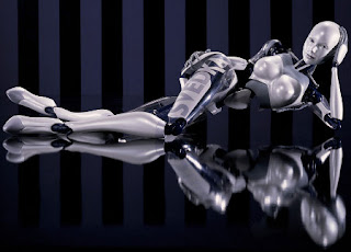 Sexy female robot