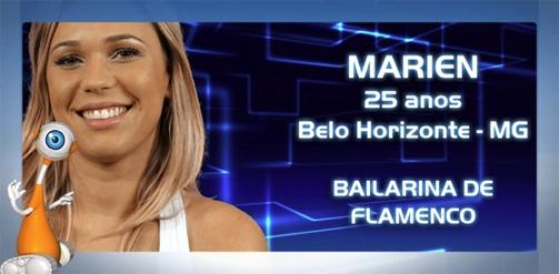 Perfil da BBB13: Marien - Fotos, Flagras, Vídeos e Informações - Marien Playboy BBB13