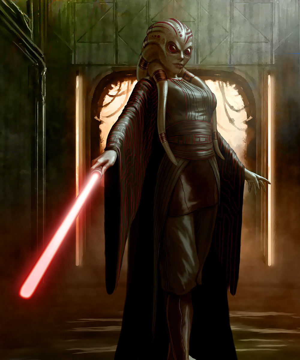 Nautolan female sith by
