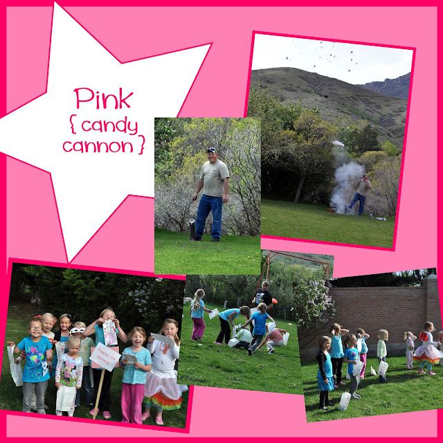 Rainbow Activities {candy cannon}