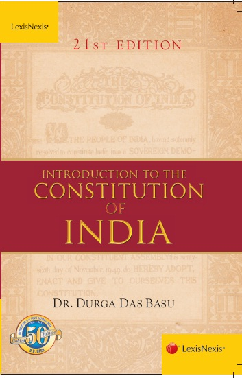 INTRODUCTION TO INDIAN CONSTITUTION BY D.D.BASU PDF DOWNLOAD