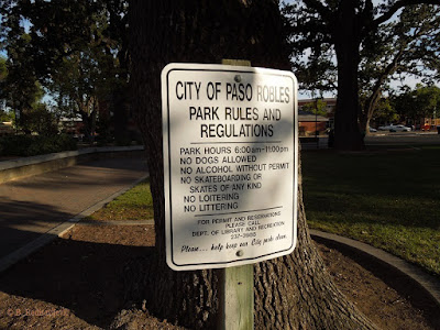 Rules - Paso Robles City Park