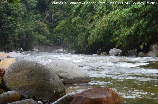 White Water Rafting - Jeram Sungai Kampar Kg Sungai Itek, Gopeng