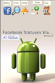 Statuses Via for Facebook | blackberry from your android