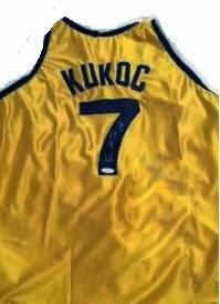 Camiseta de Kukoc, Kukoc's shirt, Split, Jugoplastika