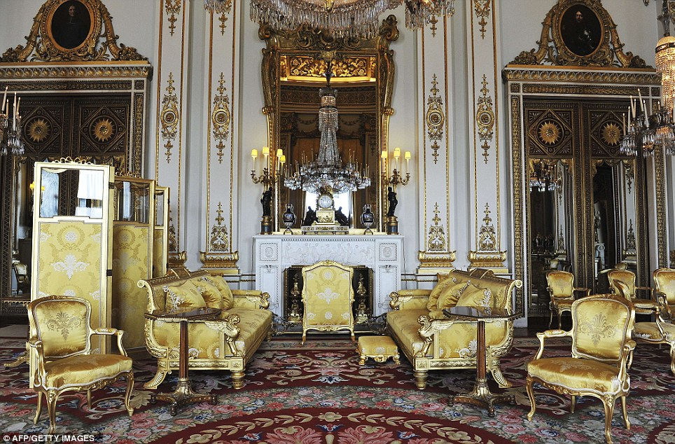 The anglofiles inside buckingham palace for Interno kensington palace