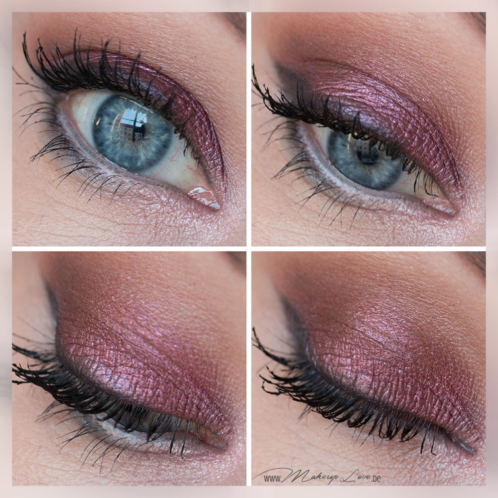 MAC Eyeshadow Cranberry Look AMU EOTD FOTD